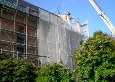 Dachsanierung St. Aegidii | palfnerundpalfner
